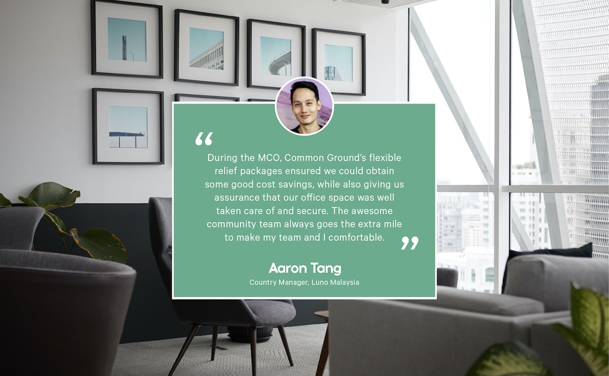 Testimonials by Aaron from Luno Malaysia