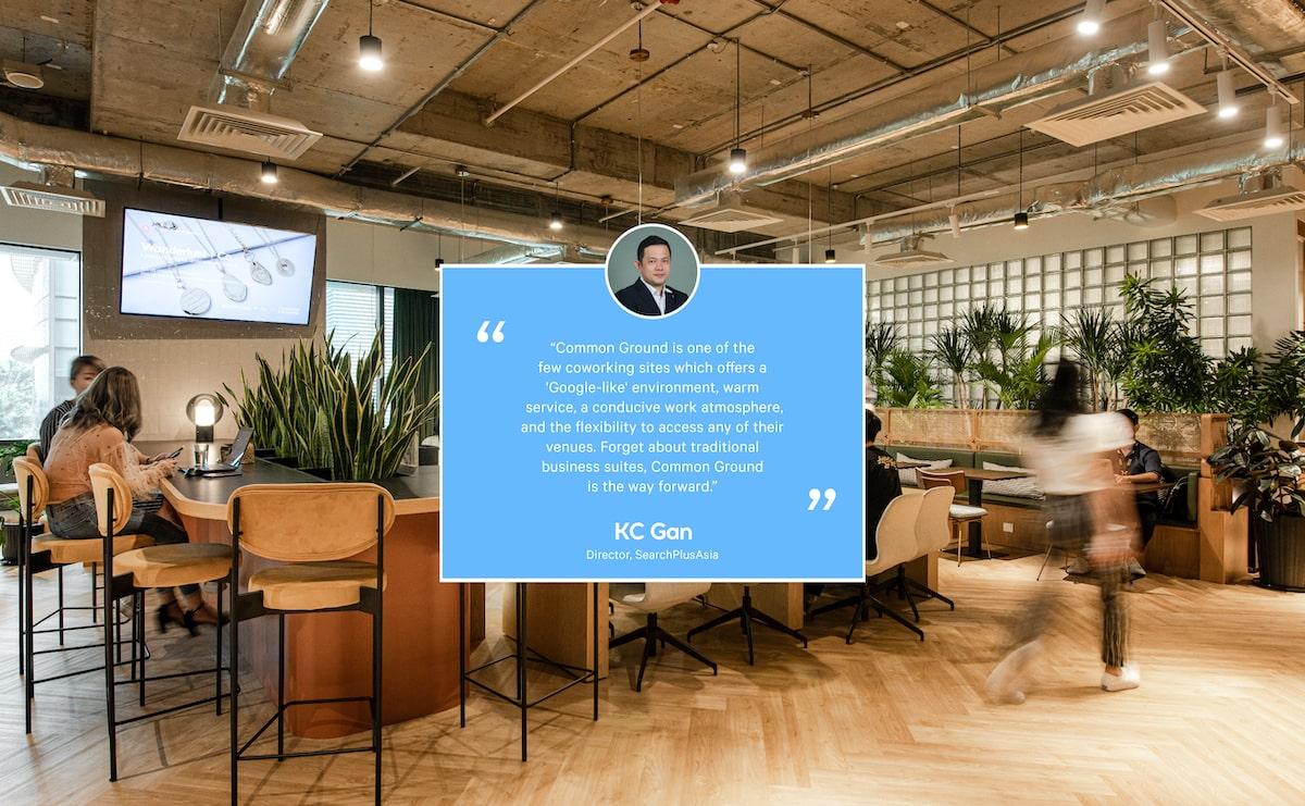 Testimonials by KC Gan rom SearchPlusAsia